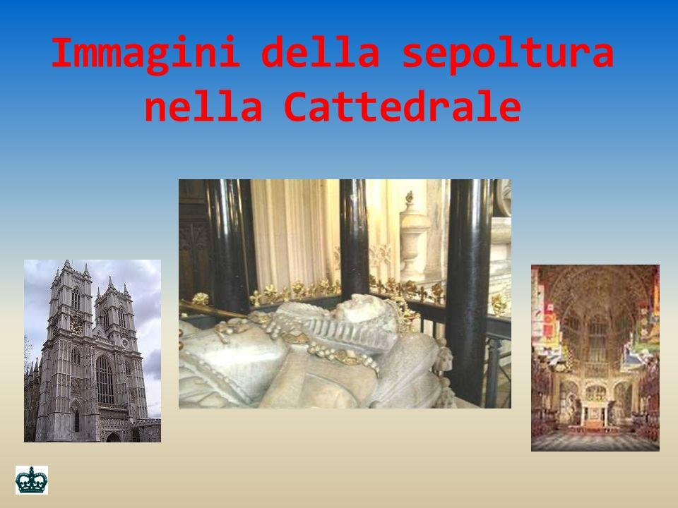 Immagini della sepoltura nella Cattedrale