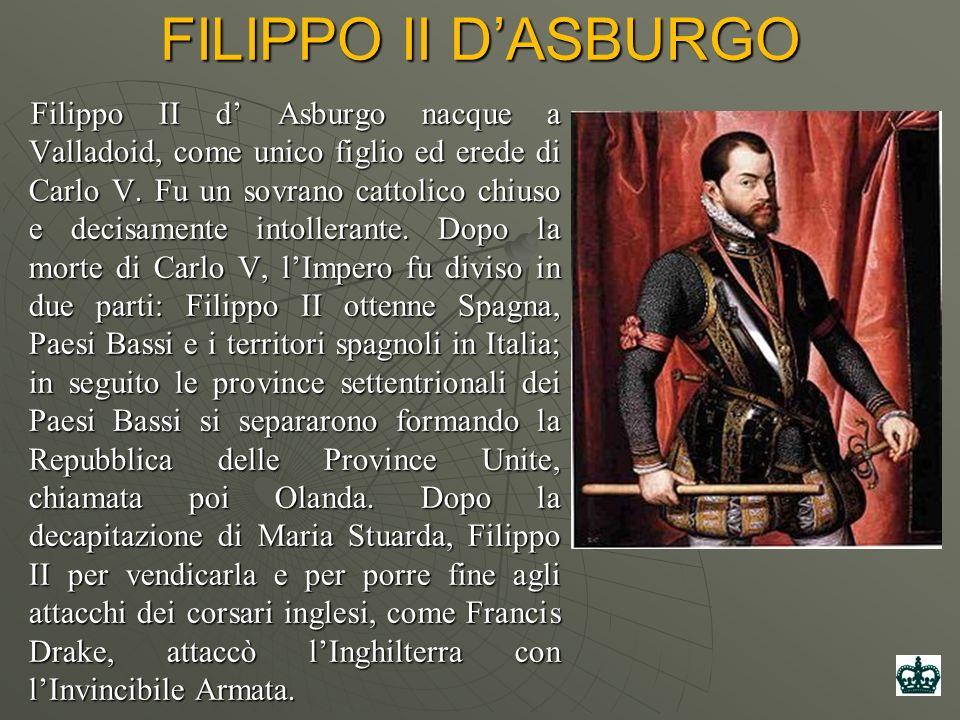 FILIPPO II D'ASBURGO