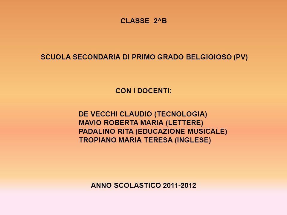 SCUOLA SECONDARIA DI PRIMO GRADO BELGIOIOSO (PV)