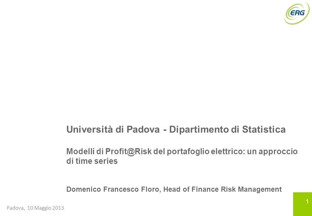 Università di Padova - Dipartimento di Statistica