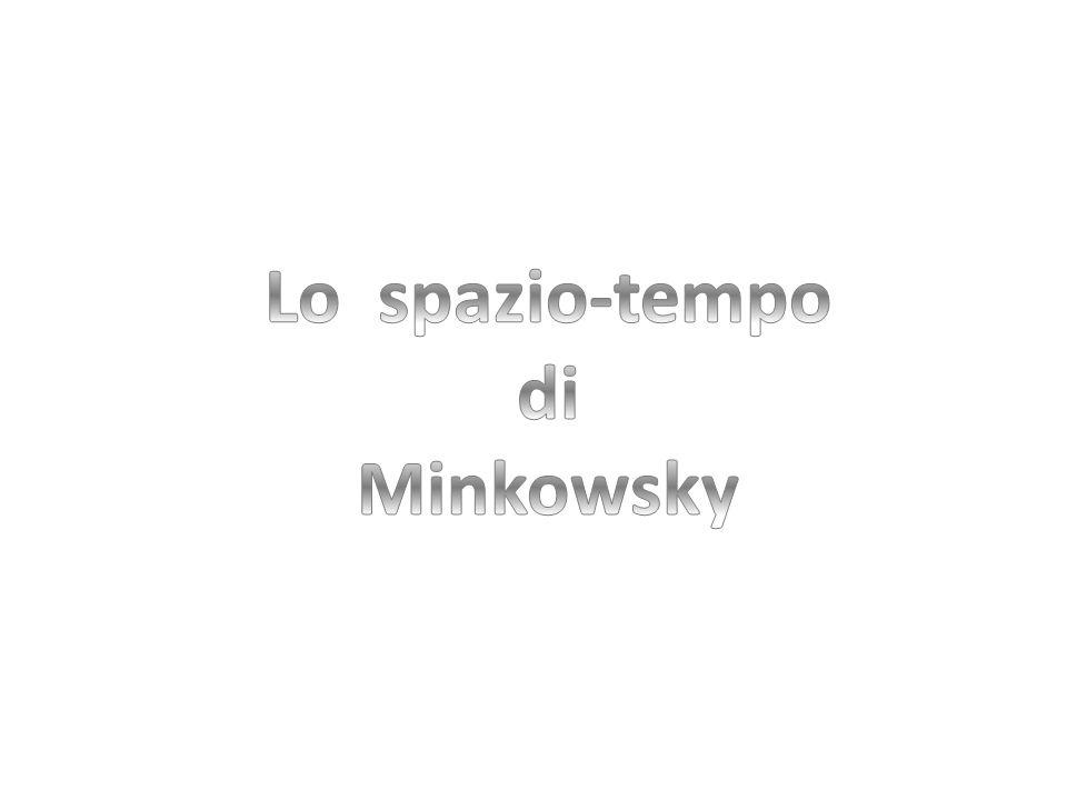Lo spazio-tempo di Minkowsky
