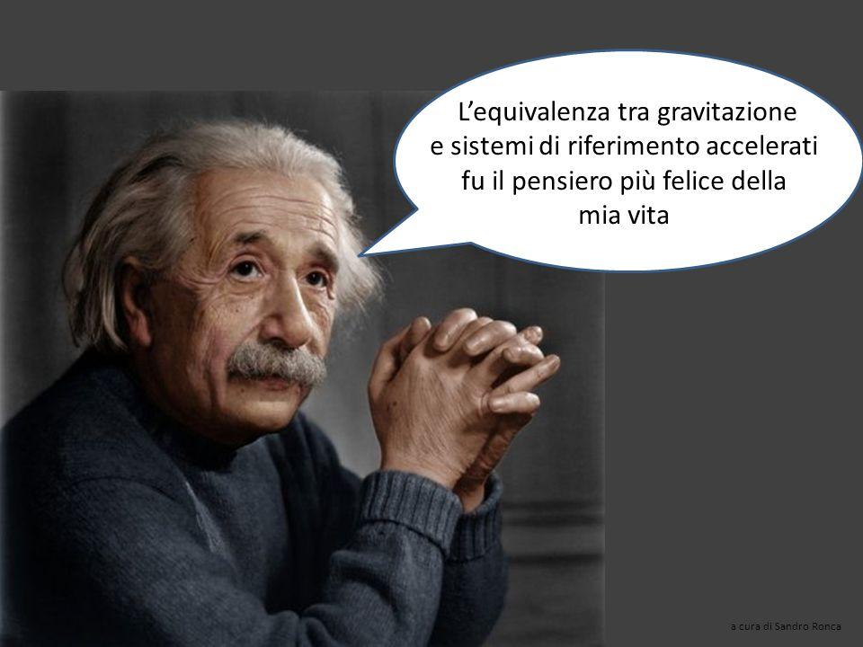 L'equivalenza tra gravitazione e sistemi di riferimento accelerati