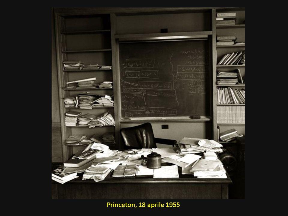 Princeton, 18 aprile 1955
