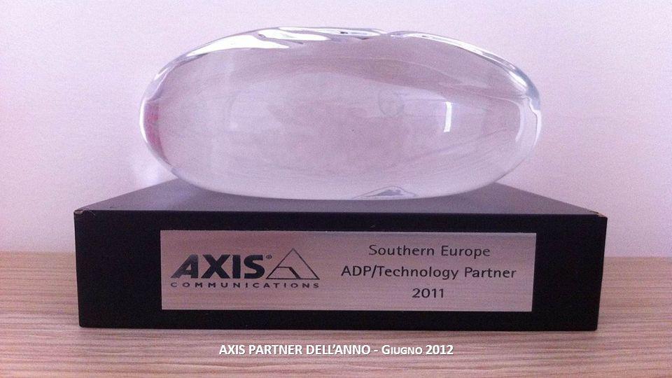AXIS PARTNER DELL'ANNO - Giugno 2012