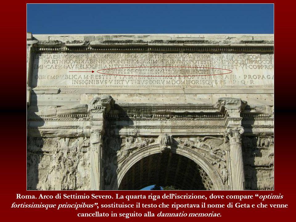 Roma. Arco di Settimio Severo