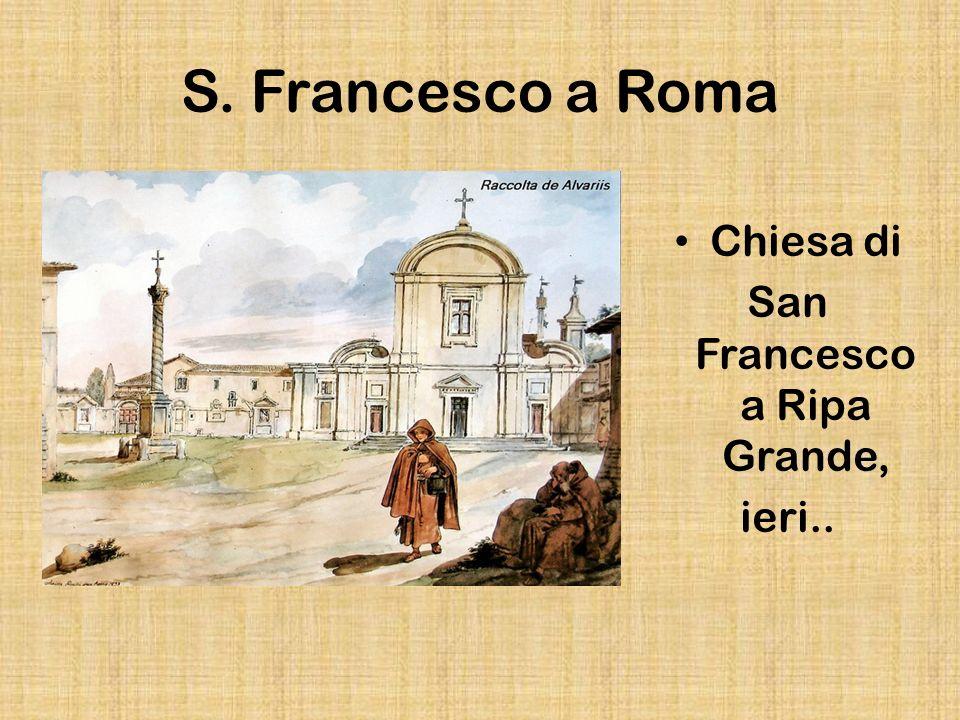 San Francesco a Ripa Grande,