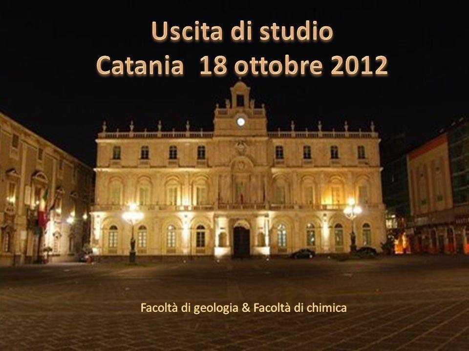Uscita di studio Catania 18 ottobre 2012