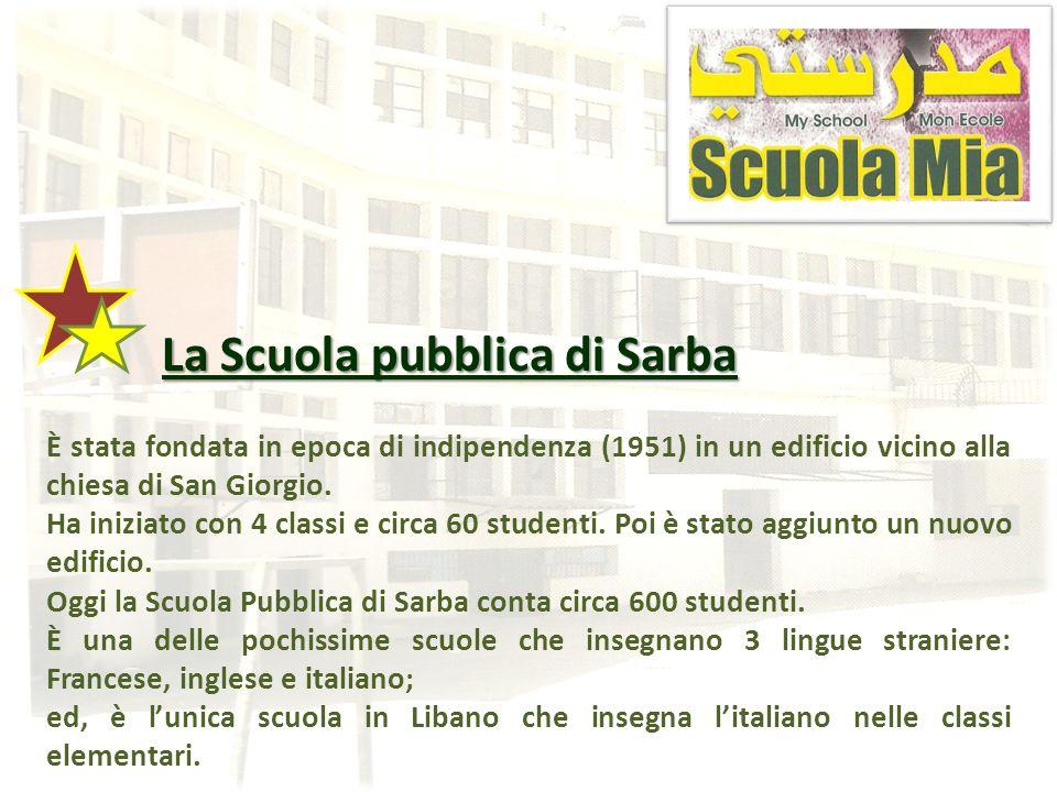 La Scuola pubblica di Sarba