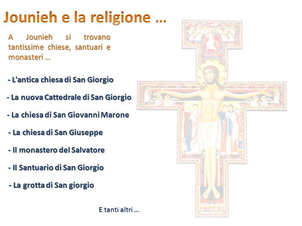 Jounieh e la religione …