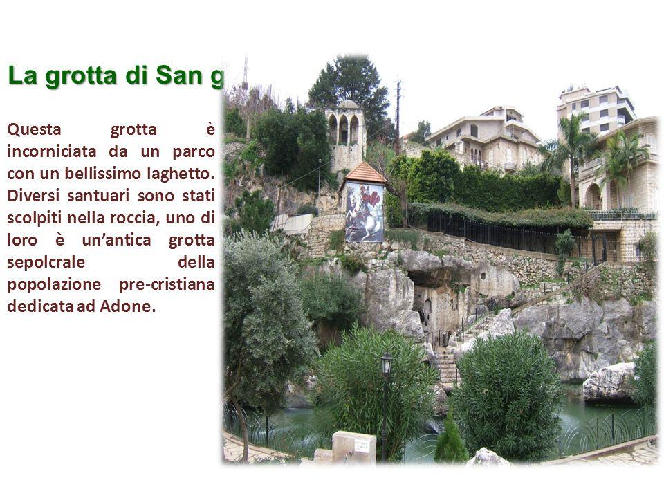 La grotta di San giorgio