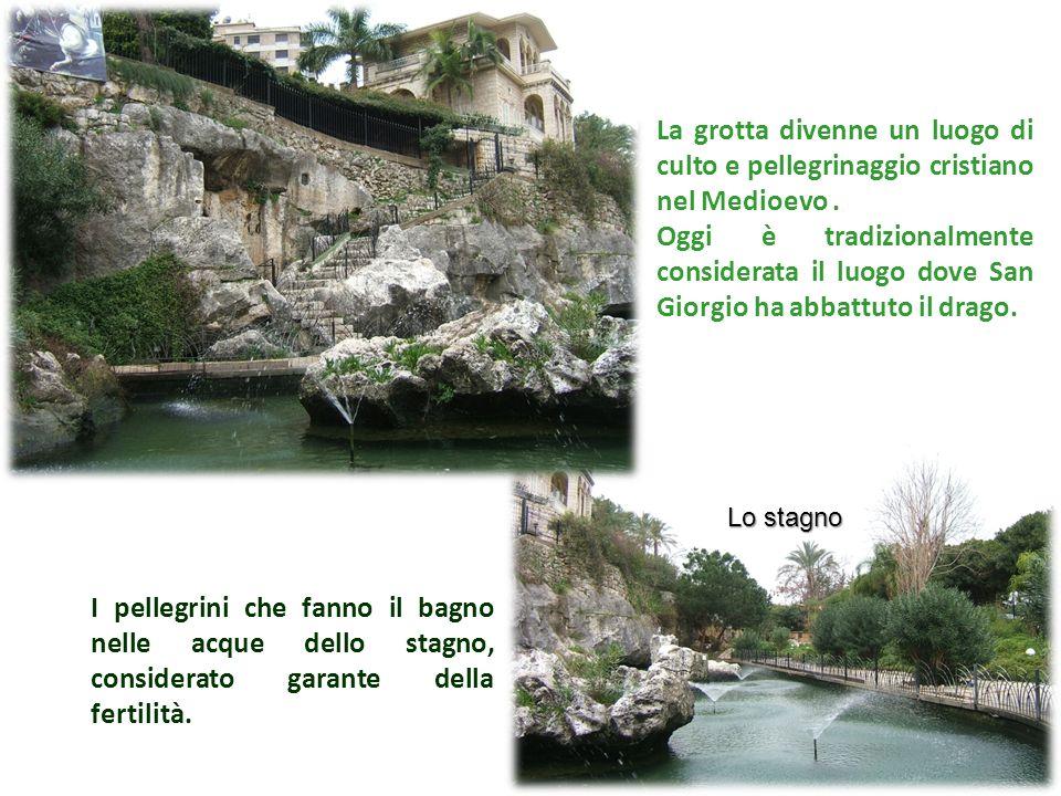 La grotta divenne un luogo di culto e pellegrinaggio cristiano nel Medioevo .