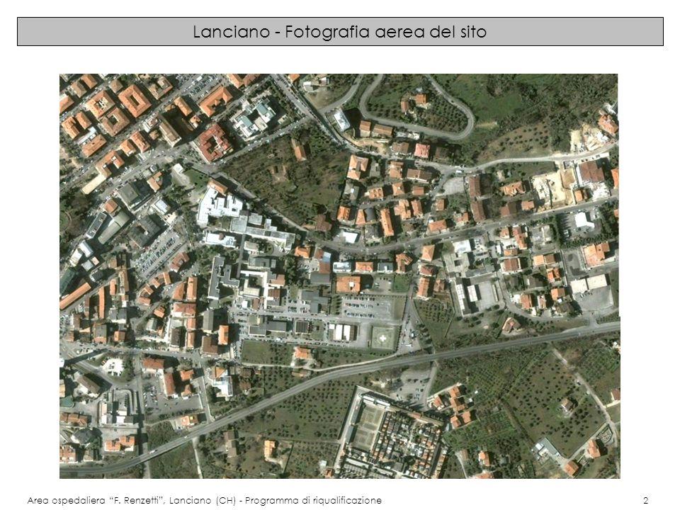 Lanciano - Fotografia aerea del sito