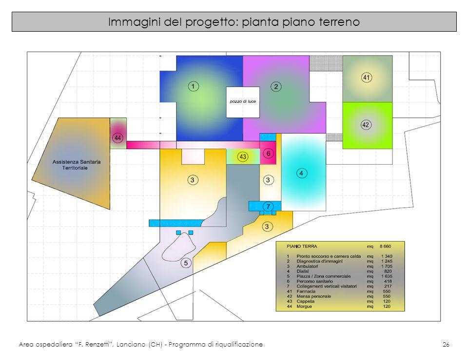 Immagini del progetto: pianta piano terreno