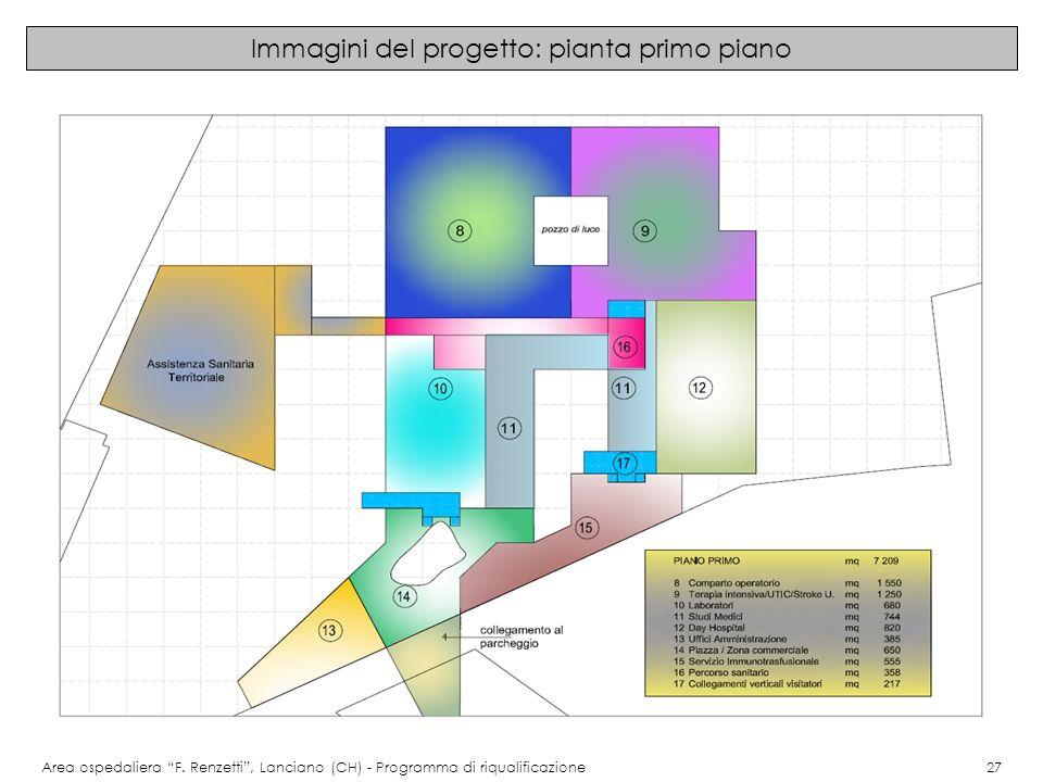 Immagini del progetto: pianta primo piano