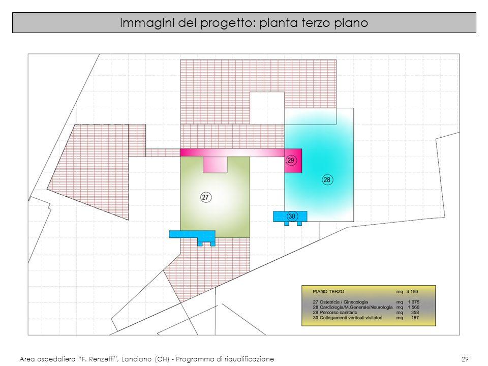 Immagini del progetto: pianta terzo piano