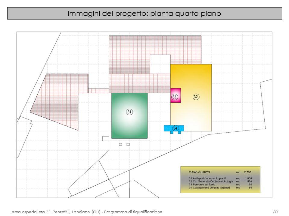 Immagini del progetto: pianta quarto piano