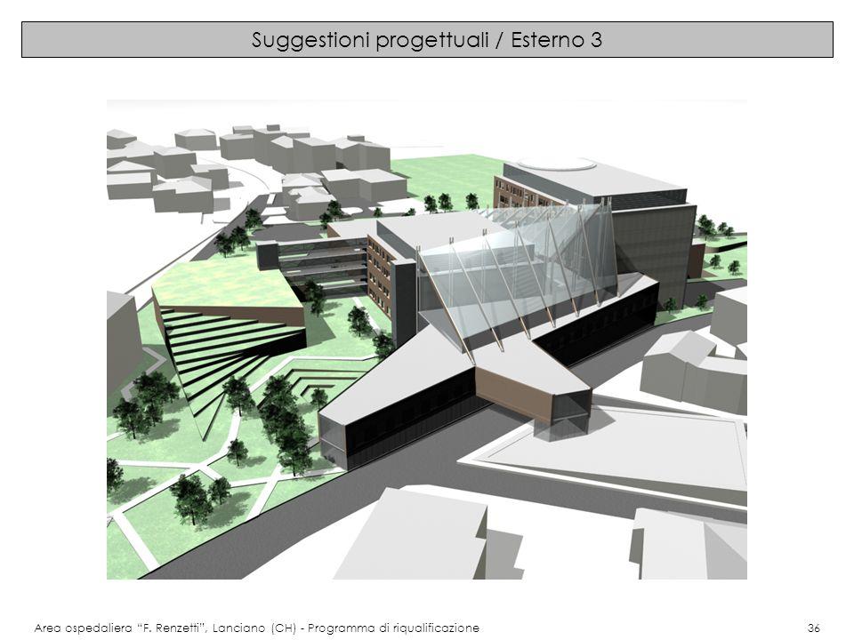 Suggestioni progettuali / Esterno 3