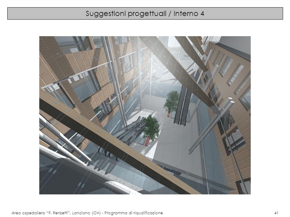 Suggestioni progettuali / Interno 4