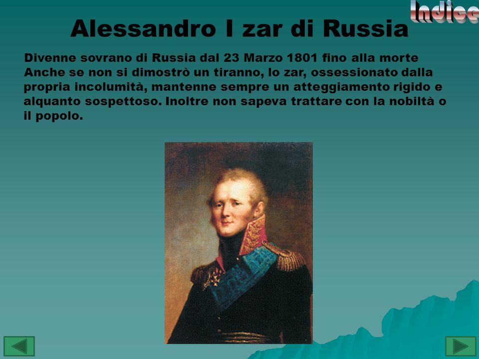 Alessandro I zar di Russia