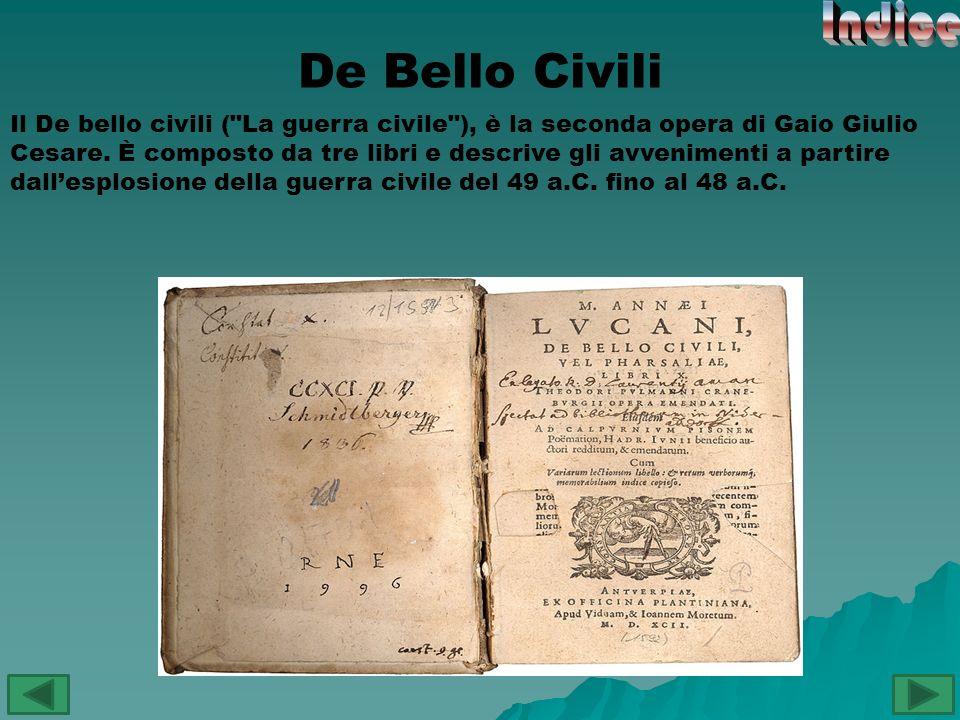 Indice De Bello Civili.