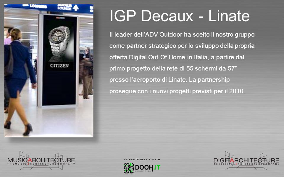 IGP Decaux - Linate
