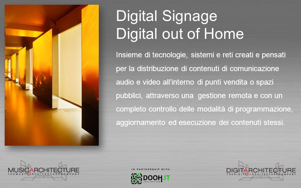 Digital Signage Digital out of Home