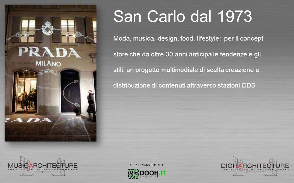 San Carlo dal 1973