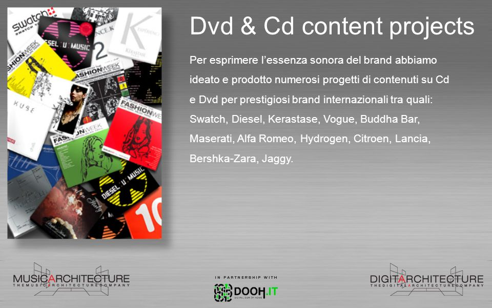 Dvd & Cd content projects