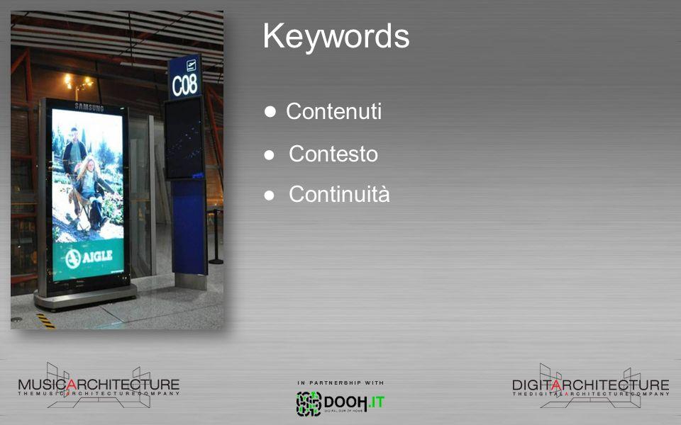 Keywords Contenuti Contesto Continuità