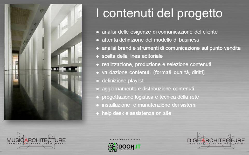 I contenuti del progetto