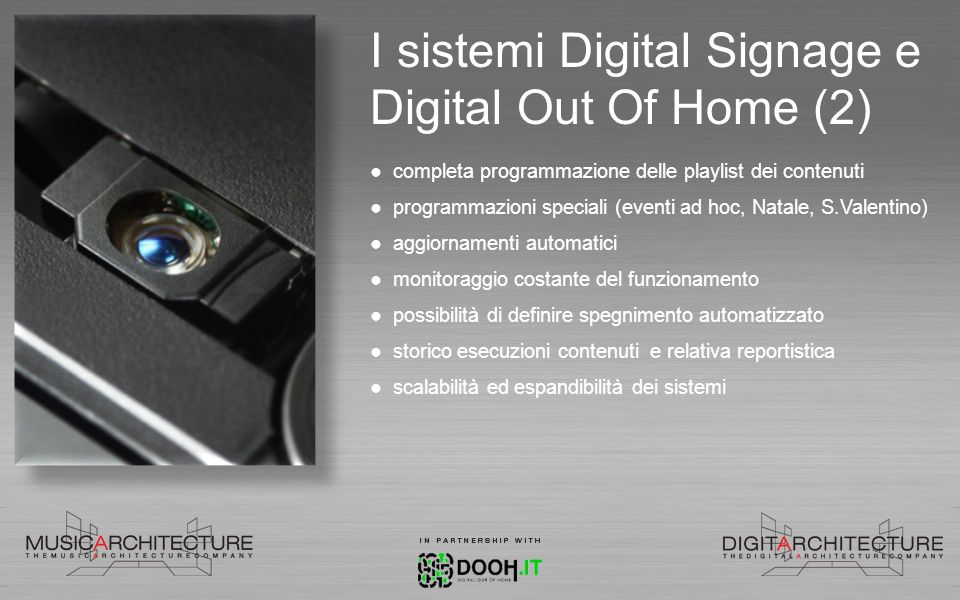 I sistemi Digital Signage e Digital Out Of Home (2)