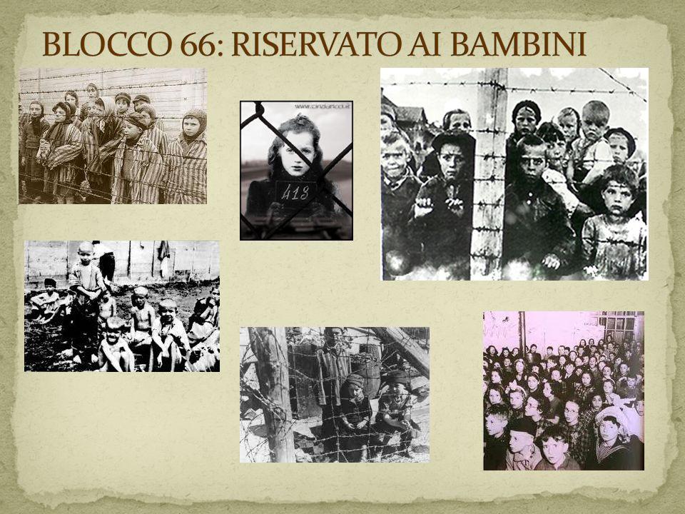 BLOCCO 66: RISERVATO AI BAMBINI