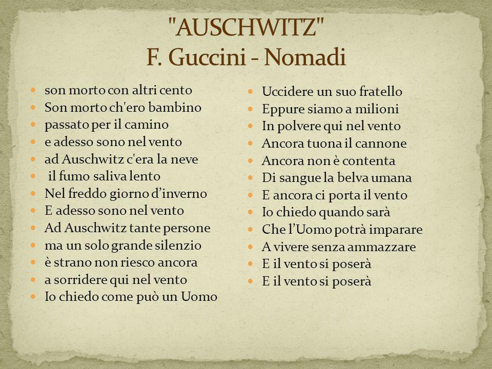 AUSCHWITZ F. Guccini - Nomadi