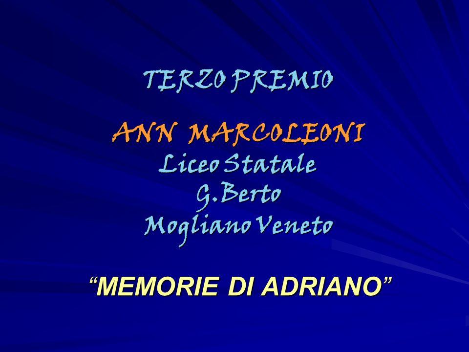 TERZO PREMIO ANN MARCOLEONI