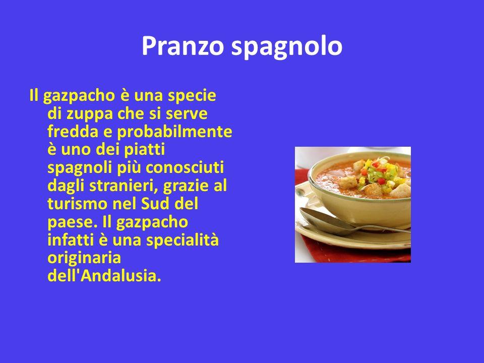 Pranzo spagnolo