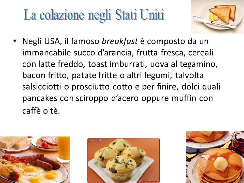La colazione negli Stati Uniti