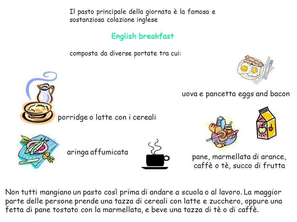pane, marmellata di arance, caffè o tè, succo di frutta