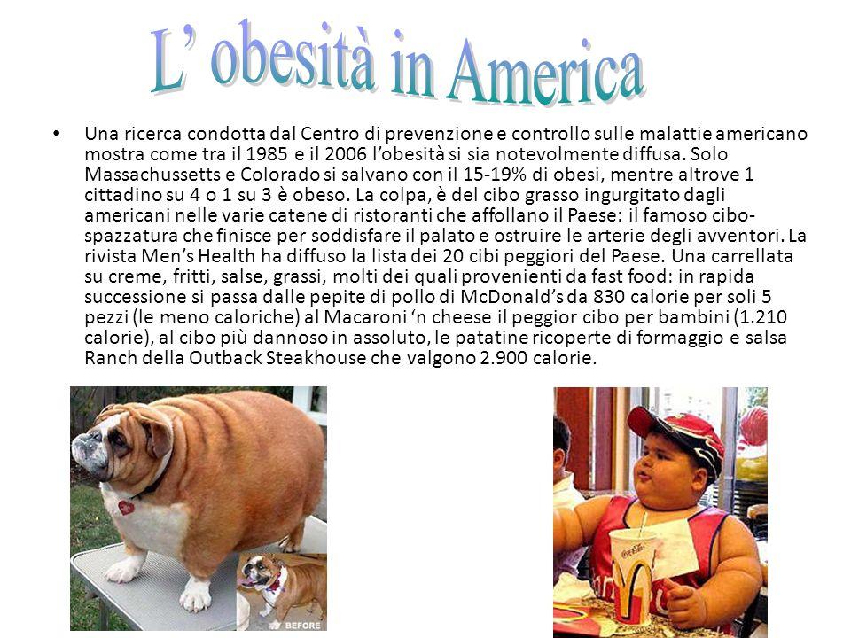 L' obesità in America
