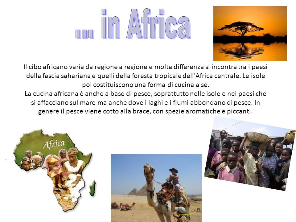 … in Africa