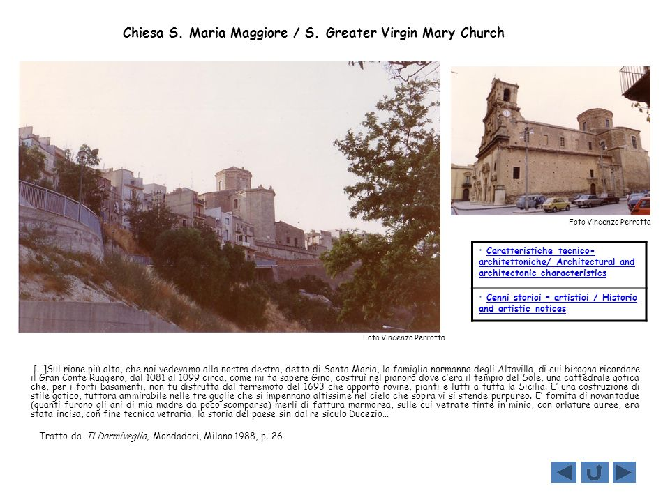 Chiesa S. Maria Maggiore / S. Greater Virgin Mary Church