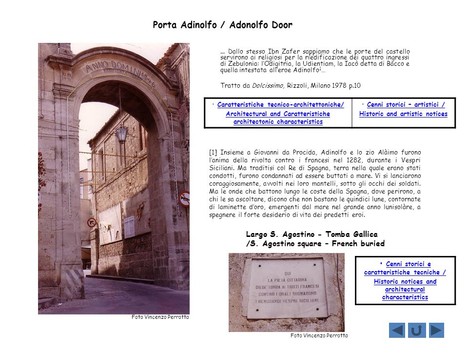 Porta Adinolfo / Adonolfo Door