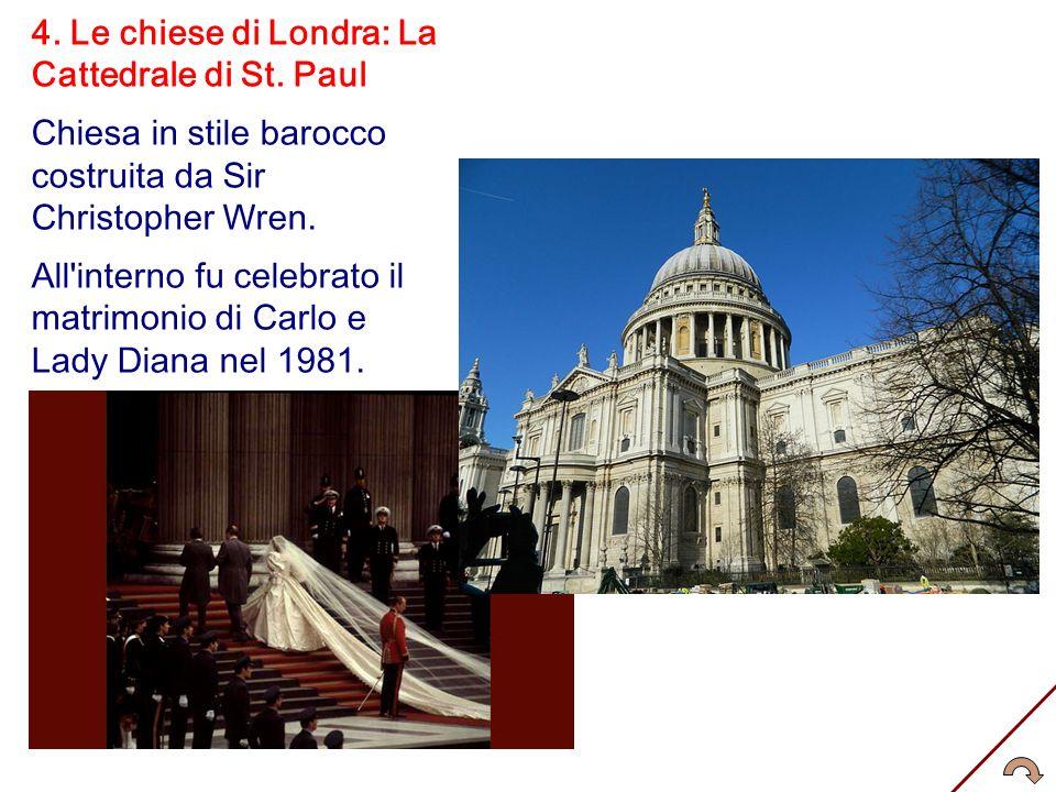 4. Le chiese di Londra: La Cattedrale di St. Paul