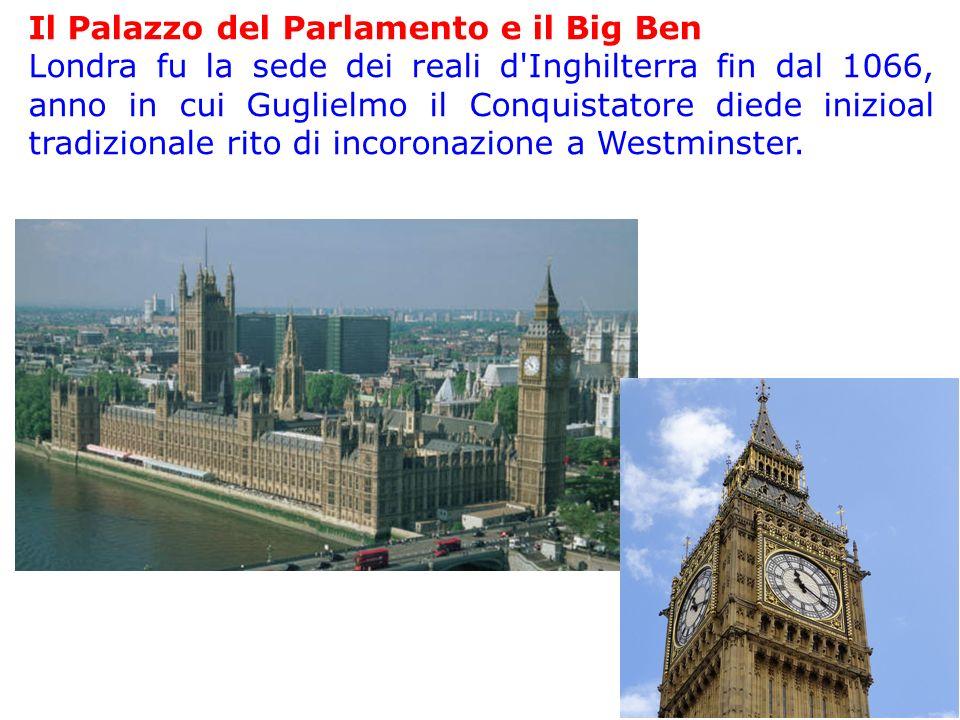 Il Palazzo del Parlamento e il Big Ben