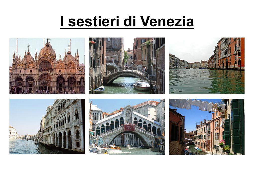 I sestieri di Venezia