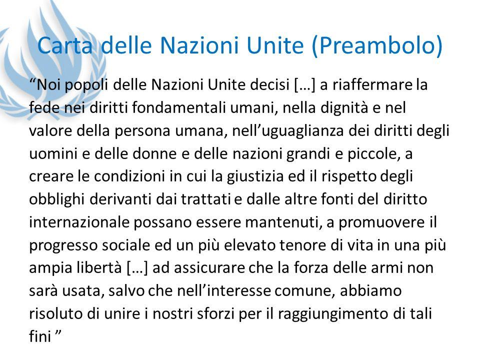 Carta delle Nazioni Unite (Preambolo)