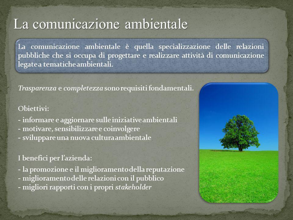 La comunicazione ambientale