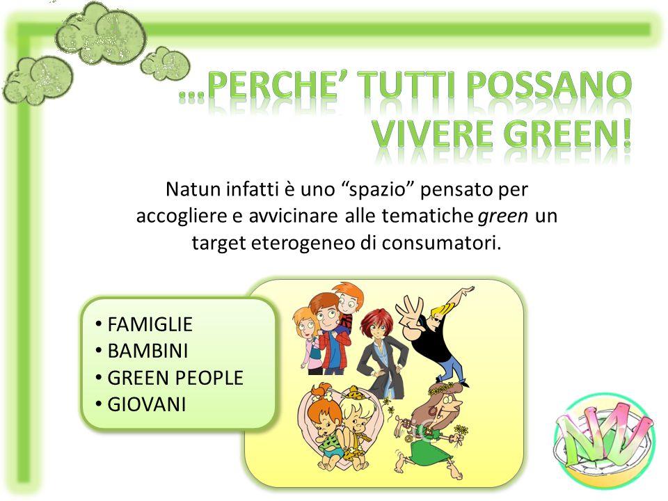 …perche' tutti possano Vivere green!
