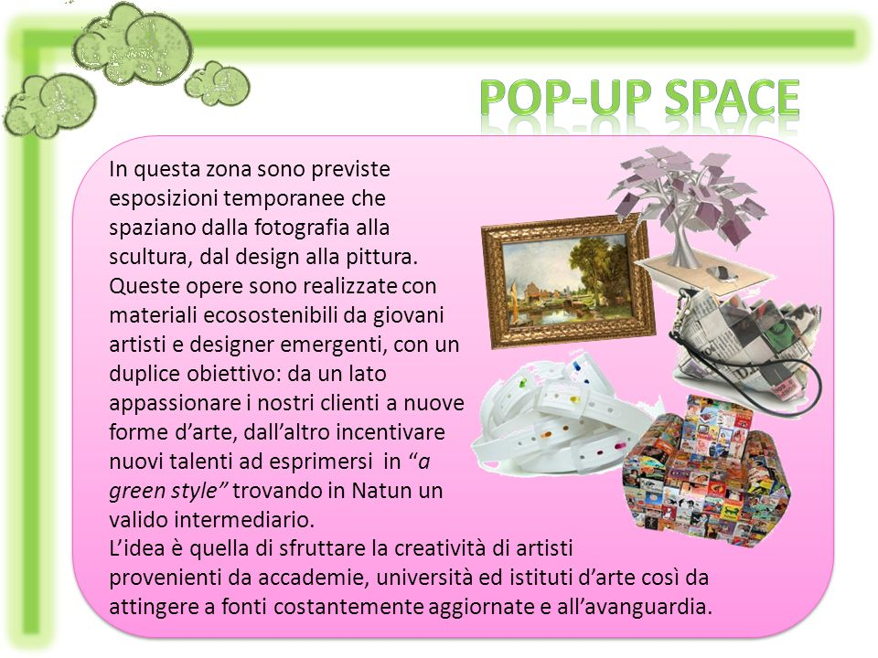 Pop-up space