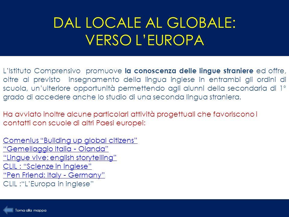DAL LOCALE AL GLOBALE: VERSO L'EUROPA