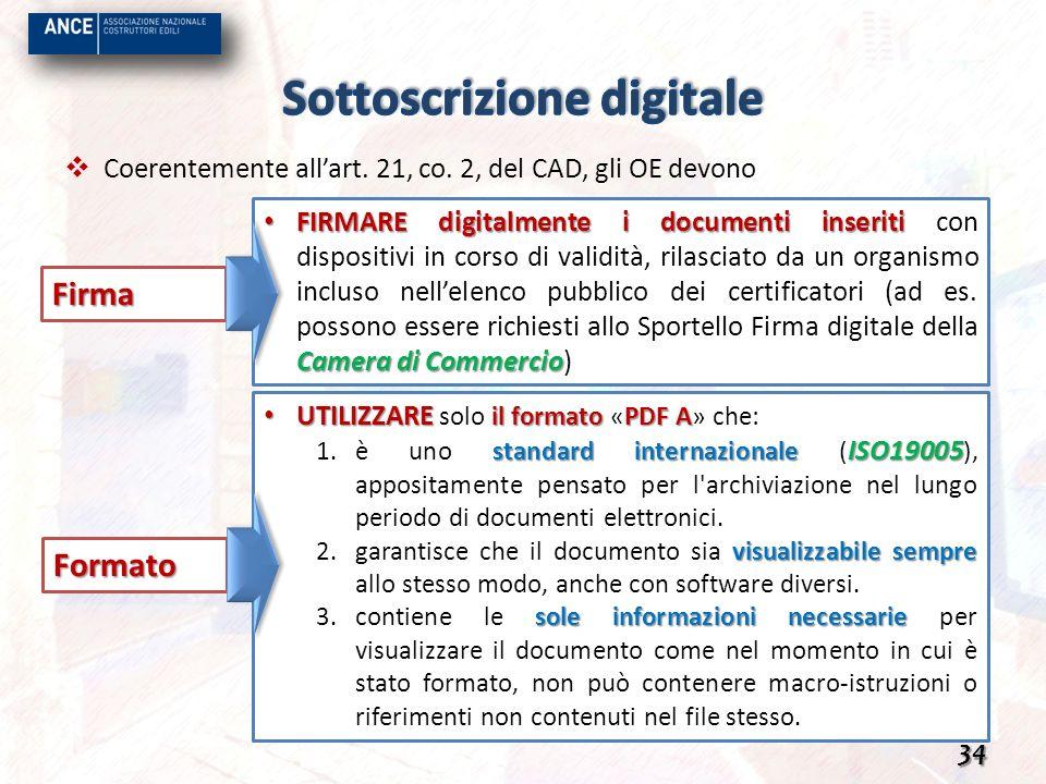 Sottoscrizione digitale